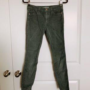Abercrombie & Fitch Skinny Corduroy Pants
